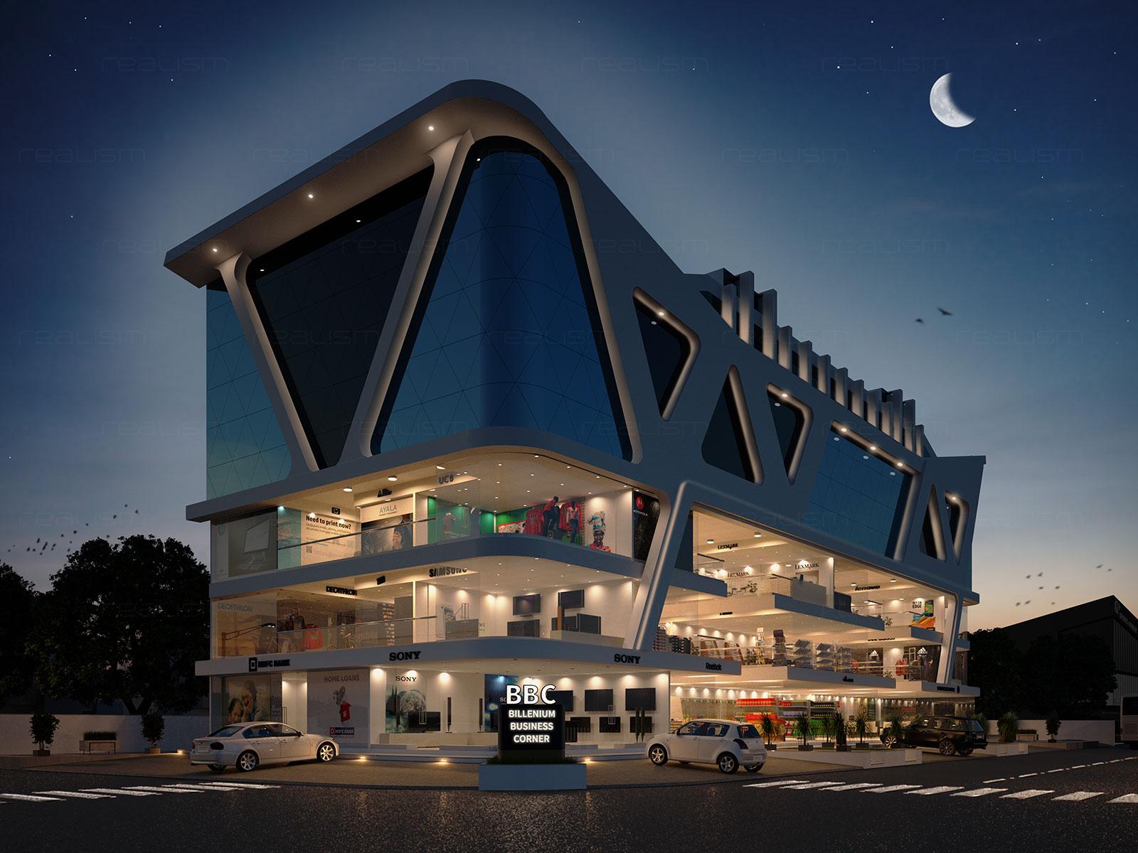 Floor Designs Realism Architectural 3d Exterior Rendering Views
